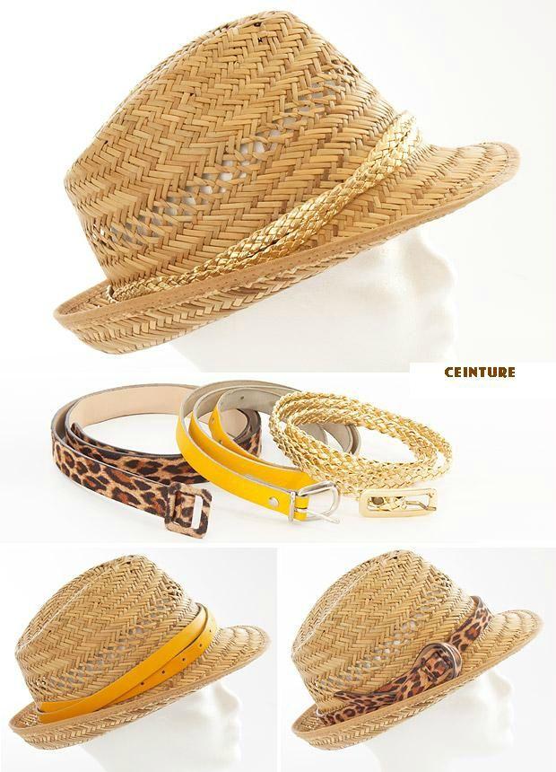 cec36ba6493e3 DIY : Customiser un chapeau en paille - Safamod Bijoux   DIY Tips ...