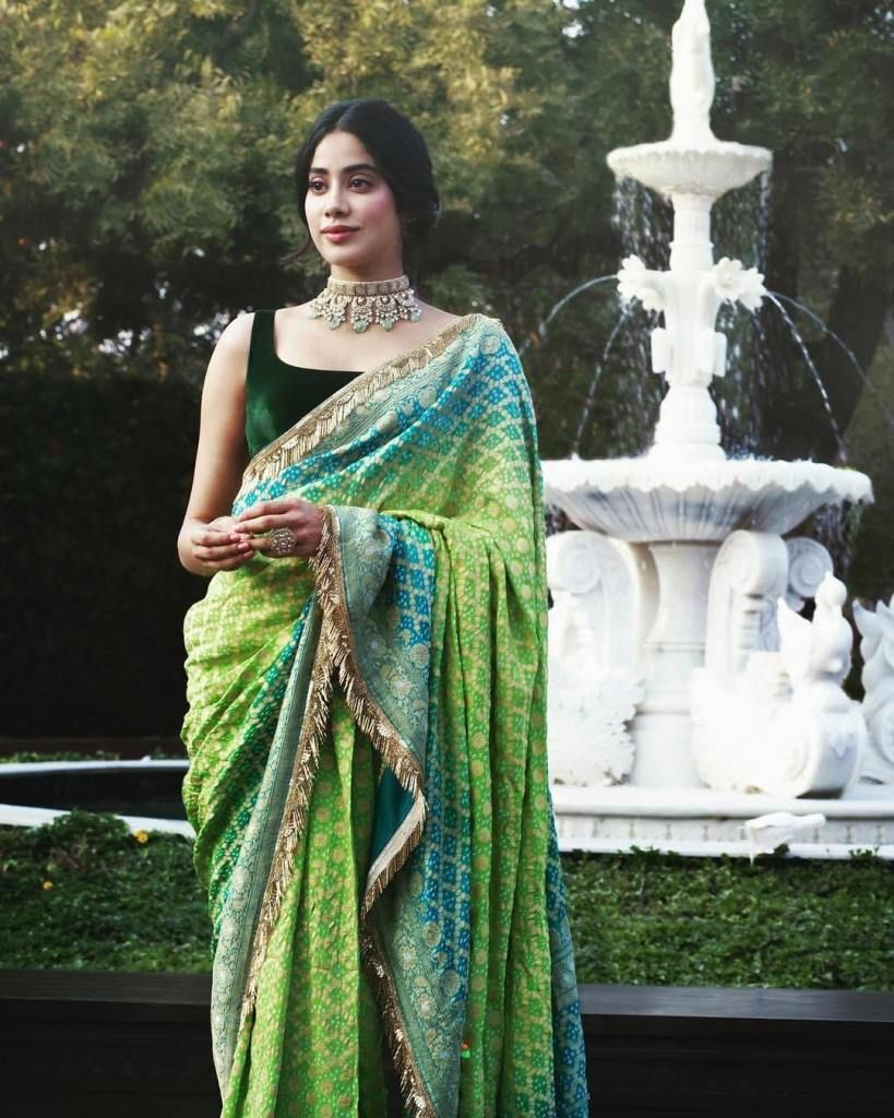 Complete List Of 2019 Wedding Exhibitions In India - Frugal2Fab | Stylish sarees, Saree look, Indian sari dress