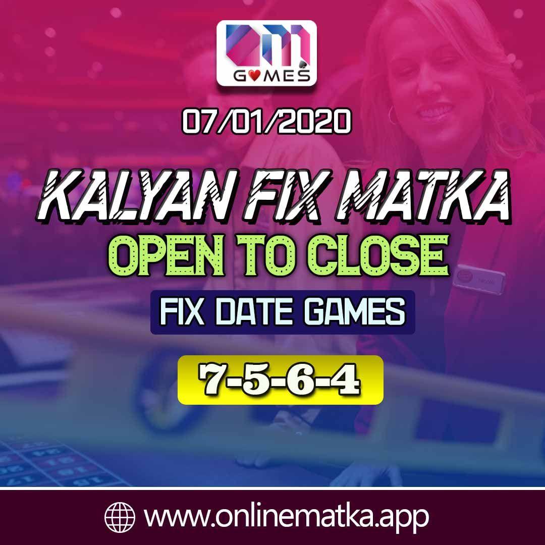 Kalyan Matka Fix Games Trick 07 01