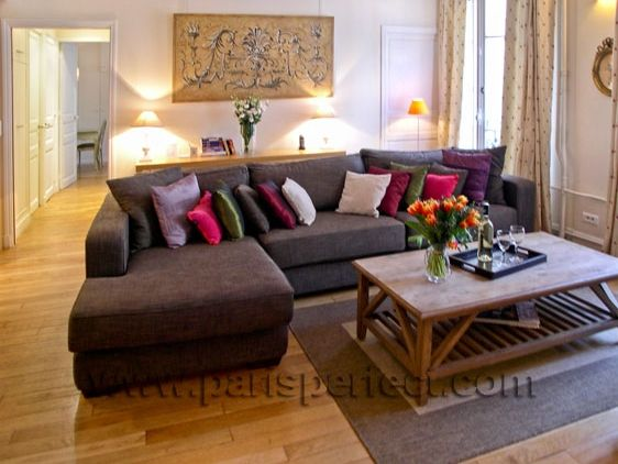 Google Image Result for //.parisperfect.com/g/photos/apartments/large_2-silk-cushions-on- sectional-sofa-fresco-in-gold-colors_webwk.jpg | Pinterest ... : sectional couch cushions - Sectionals, Sofas & Couches