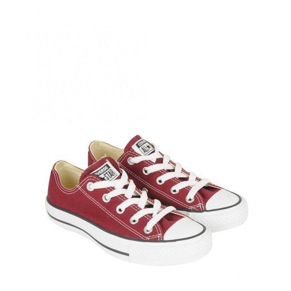 Converse Chucks Chuck Taylor All Star OX (red)