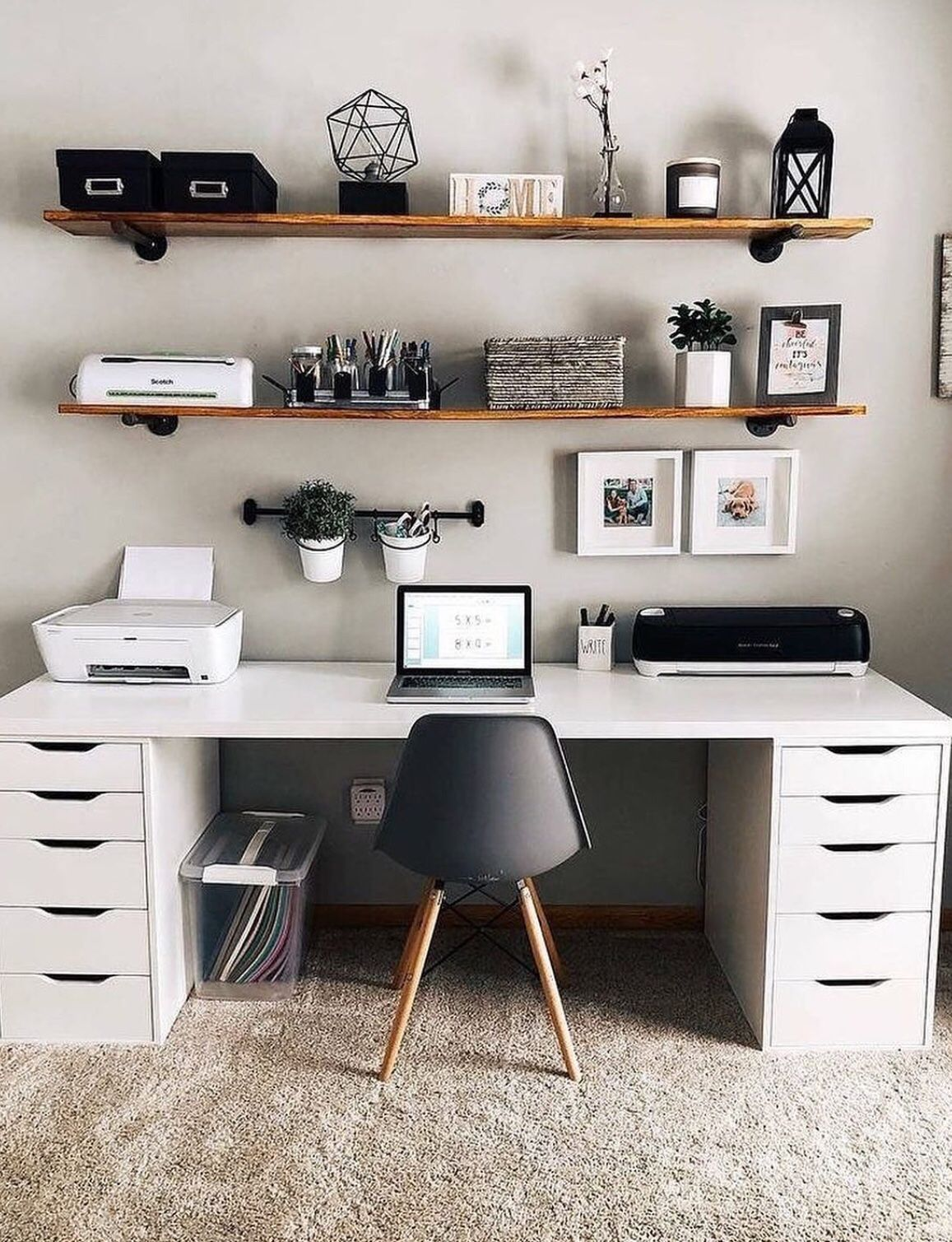 48 Cute Desk Space Decor to Have for Yourself