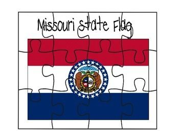 This is a Missouri flag puzzle.