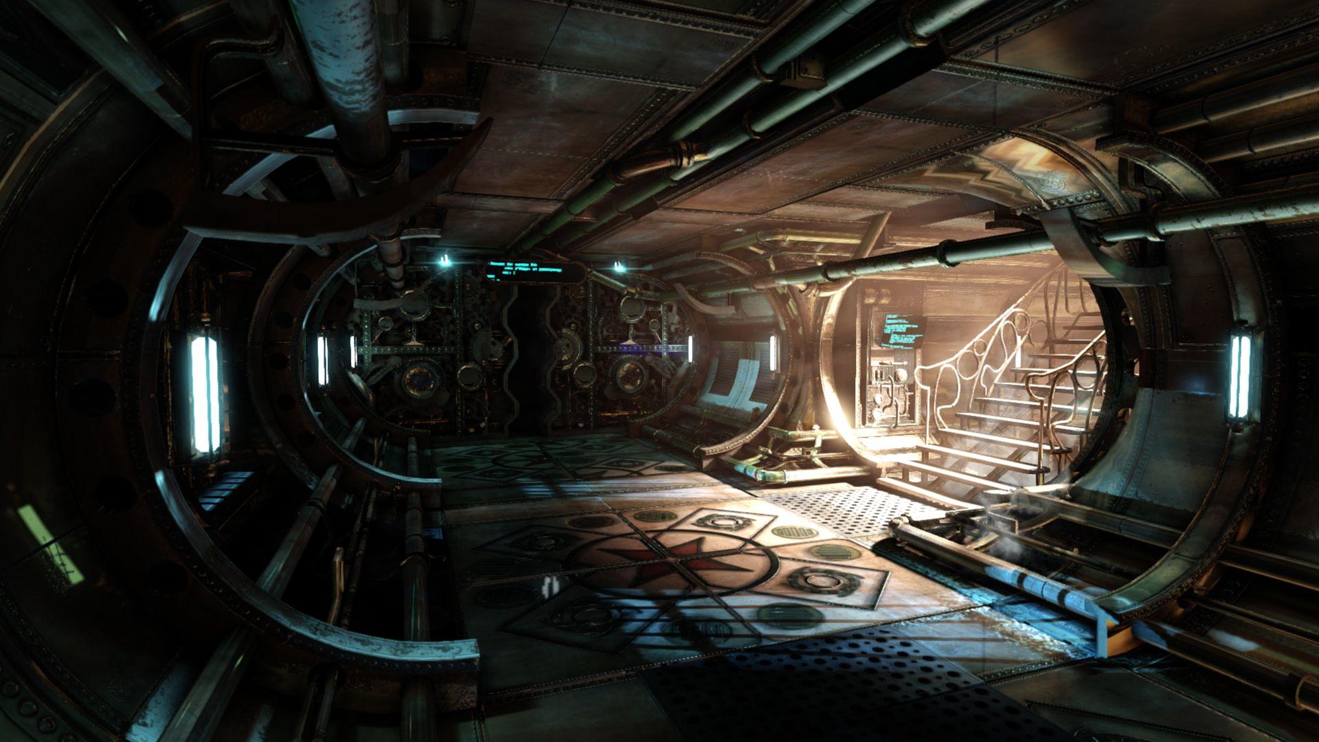 Space Station Interior Art Spaceship Interior Steampunk Steampunk Environment Concept Art