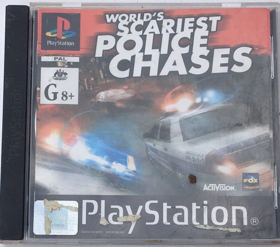 PS1 Playstation Game World's Scariest Police Chases | Things