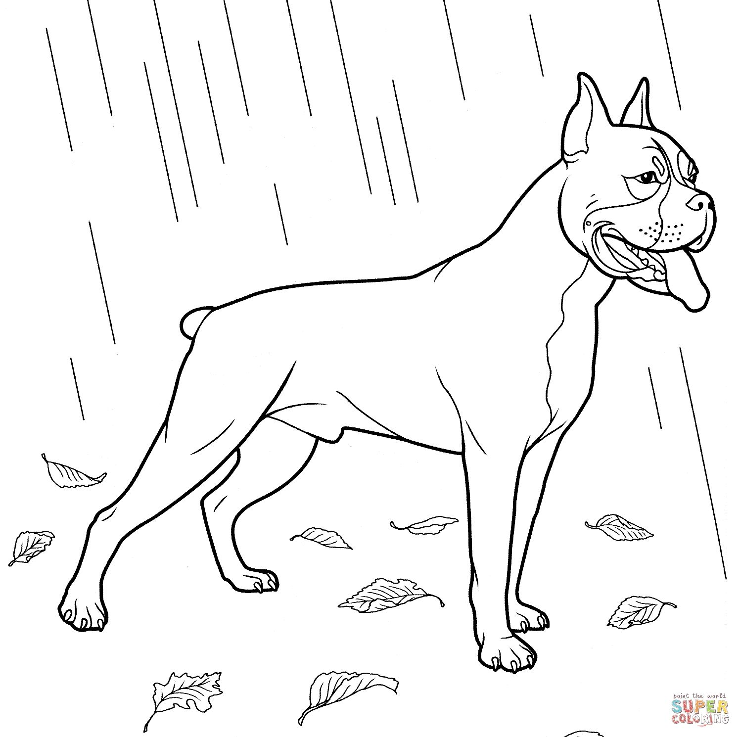 Dog Coloring Pages | Forcoloringpages.com | PSI | Pinterest