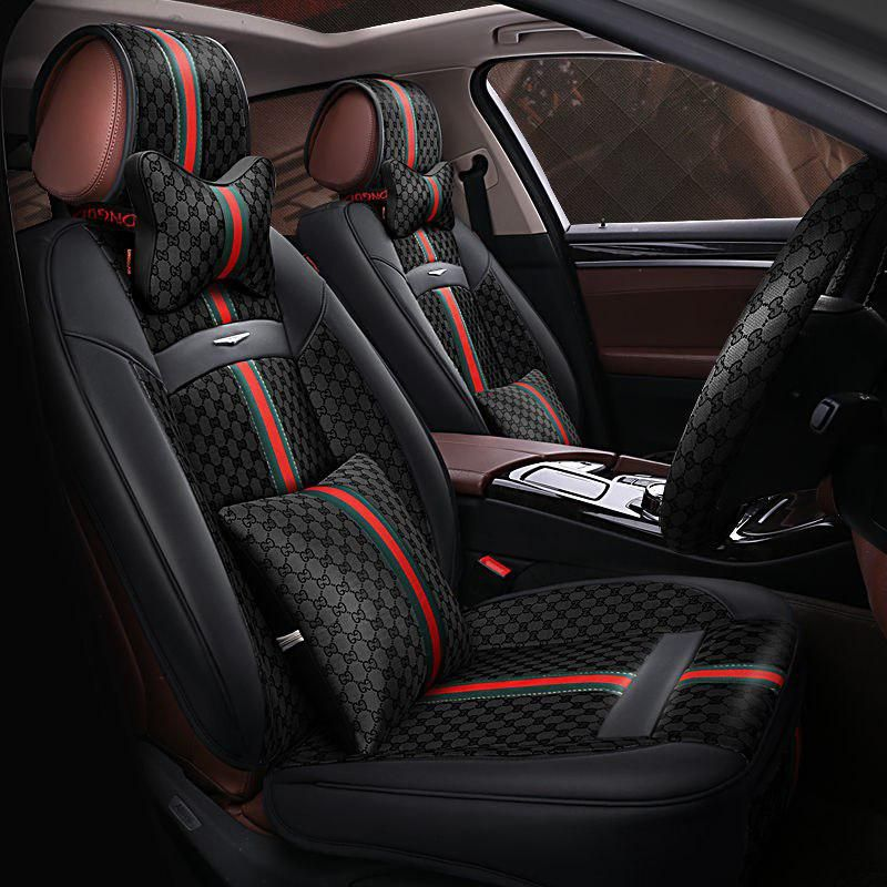 6d Styling Sport Car Seat Cover General Cushion Car Pad Auto Seat Cushions For Audi A3 A4 A5 A6 A7 A8 S Sports Car Seat Cover Car Seats Leather Car Seat Covers