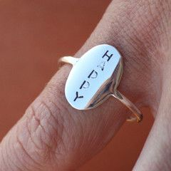 Happy Ring Size 56