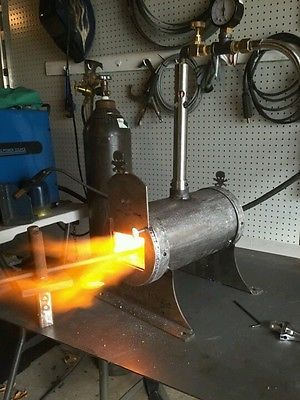 Knife Maker Knifemaker Gas Forge Blacksmith Forge Single Burner Skull Forge Gas Forge Blacksmithing Blacksmith Forge