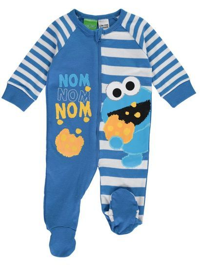 4a11b4d9b Baby Romper Cookie Monster | j5 | Cute baby clothes, Baby boy swag ...