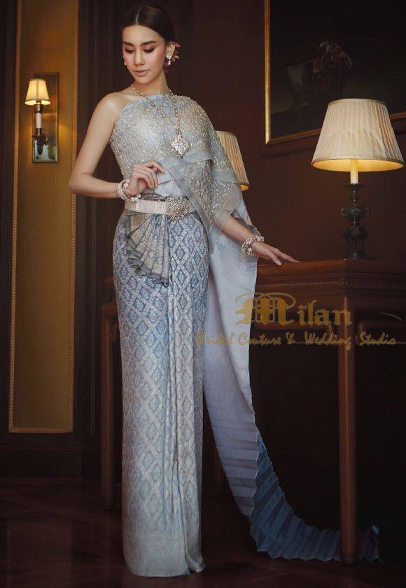 Thai wedding dresses pictures