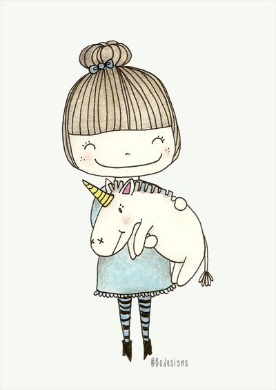 Unicorn Girl Bodesigns Bonnie S Dream Room In 2018 Draw Art