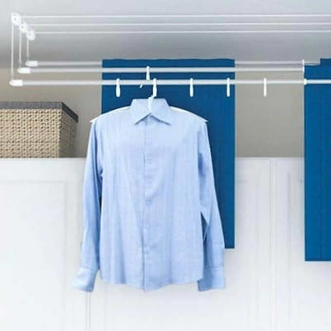 Clothes Drying Rack Costco Greenway® 3Bar Laundry Lift  Laundry Room  Pinterest  Laundry