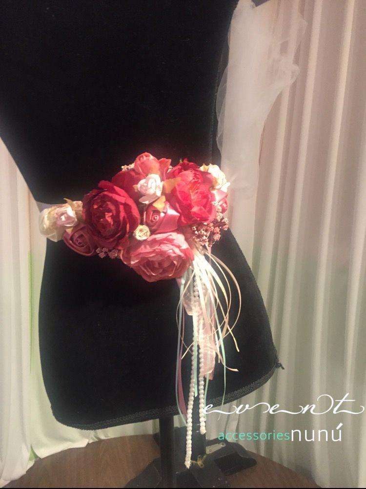 cinto corsage. para mommy baby shower  #accesoriosnunu #eventnunu #babyshower