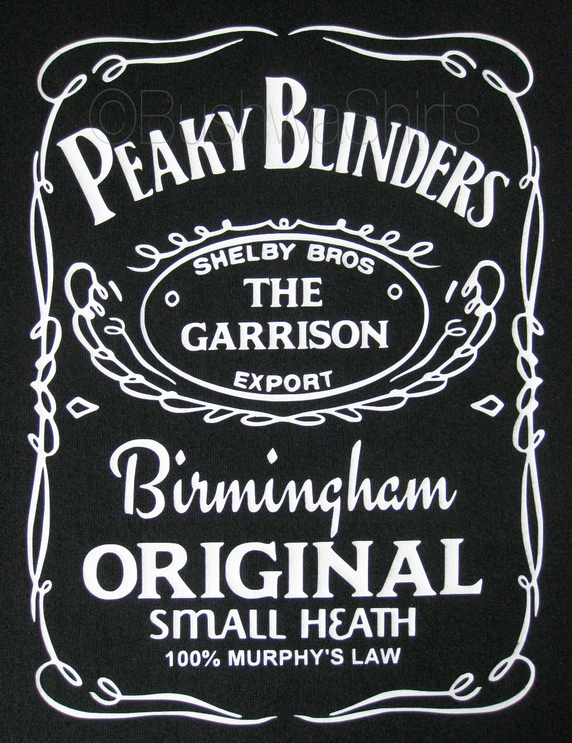 23ffa29c Peaky Blinders / The Garrison Inspired T Shirt Top Mens Tee Great Gift  Cotton
