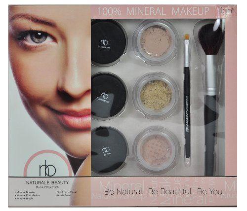 Naturale Beauty Mineral Face Makeup Set, Light Edition ♥