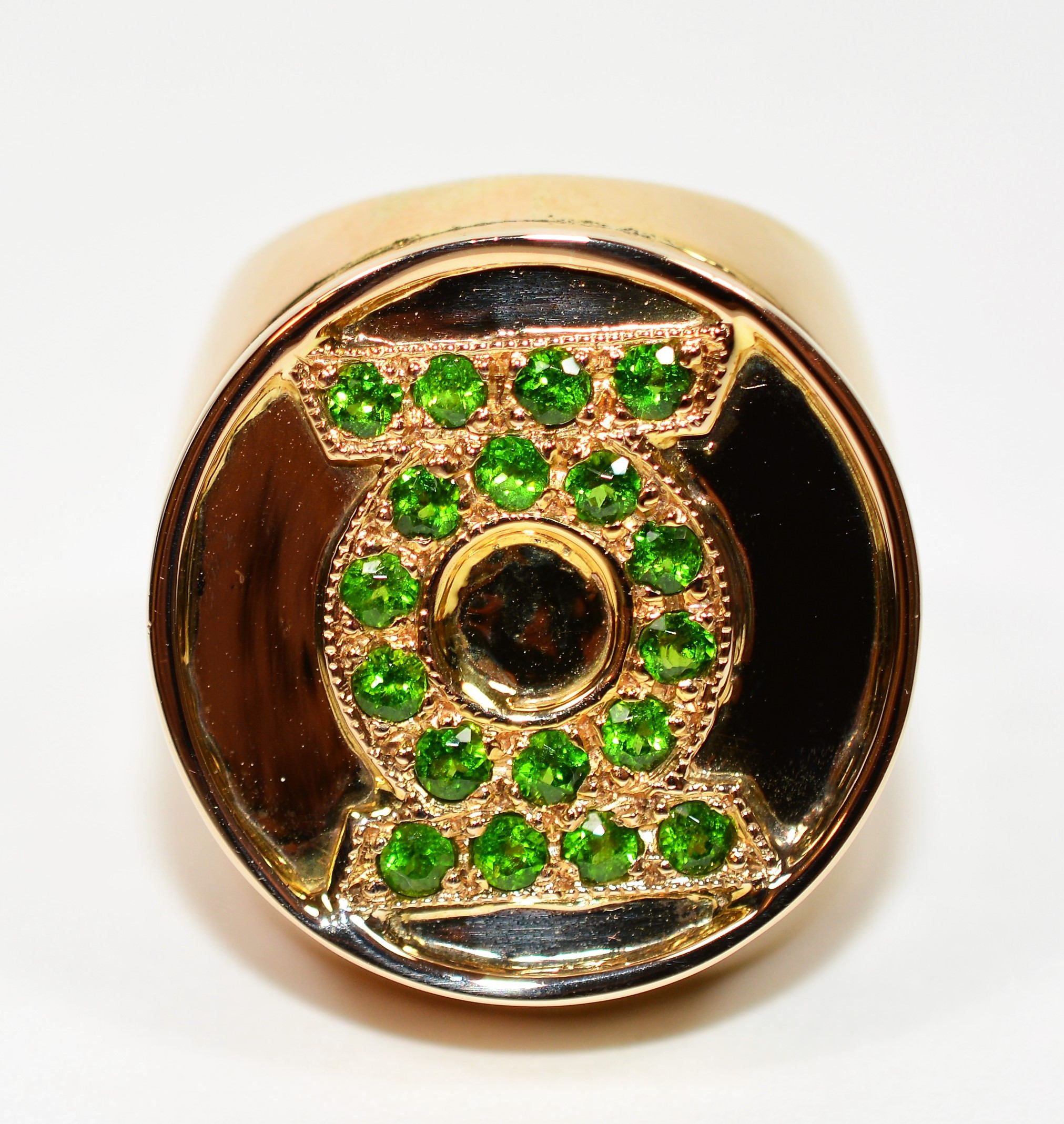 gold carved il cut oval handmade jylh ring emerald cocktail natural product pinky s band men mens fullxfull colombian