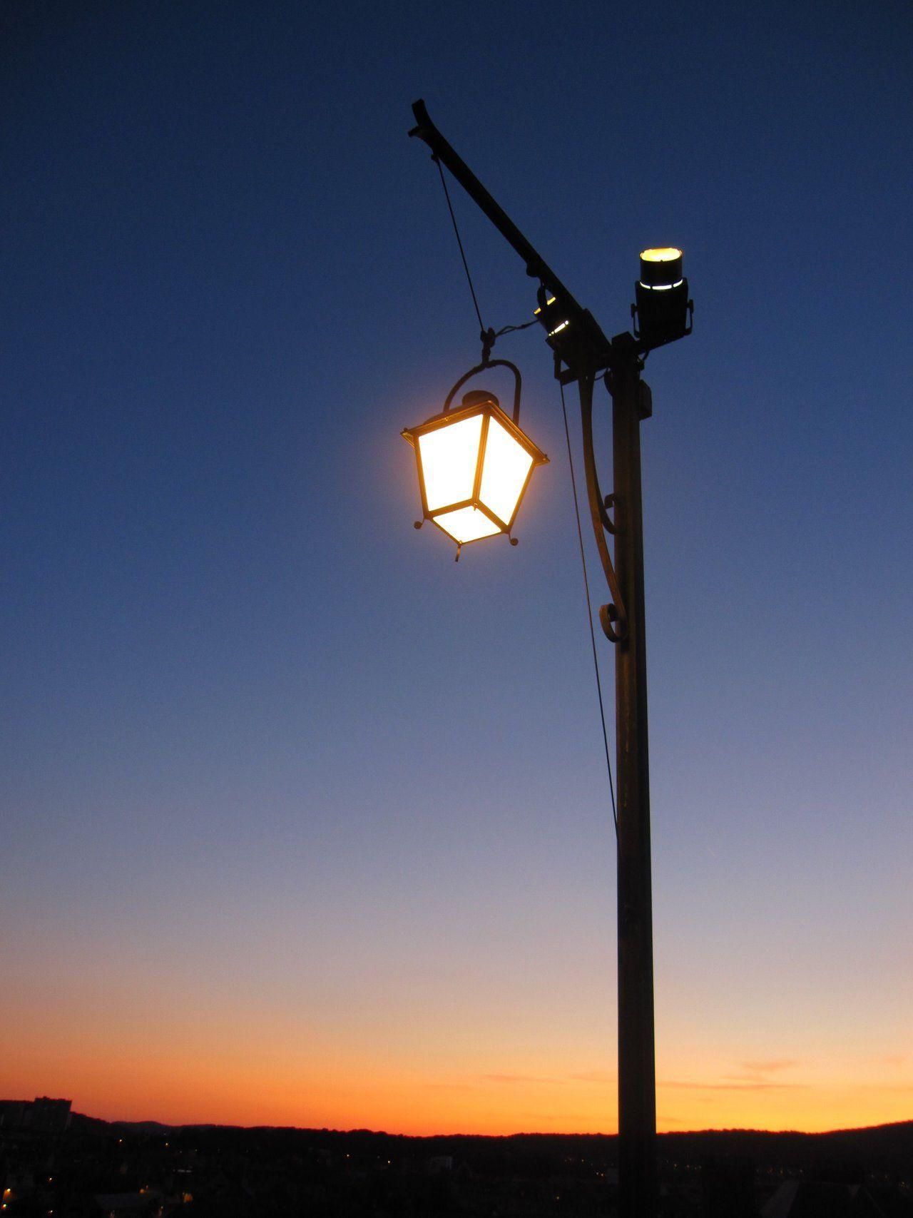 Street Lamp At Night Wallpaper | www.pixshark.com - Images ...