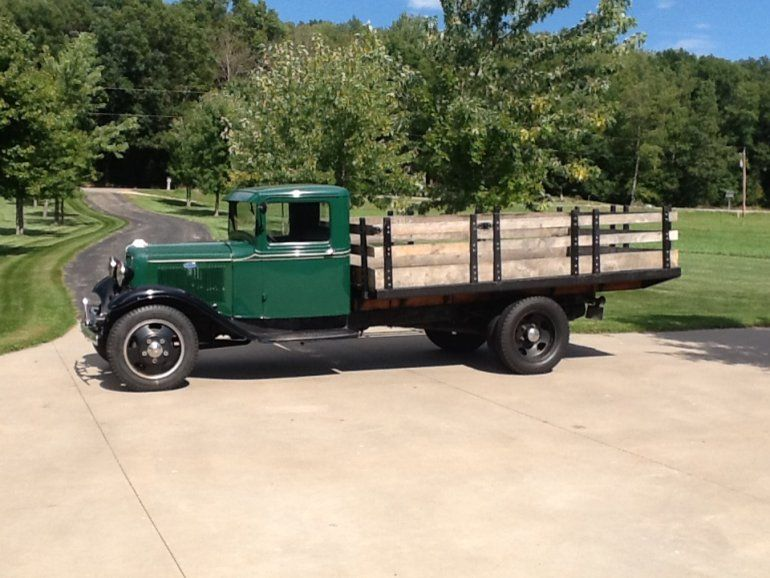 1934 Ford Model Bb 1 1 2 Ton With Images Classic Ford Trucks