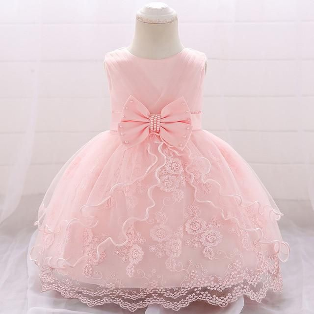 Audrey Lace Dress #babygirlpartydresses