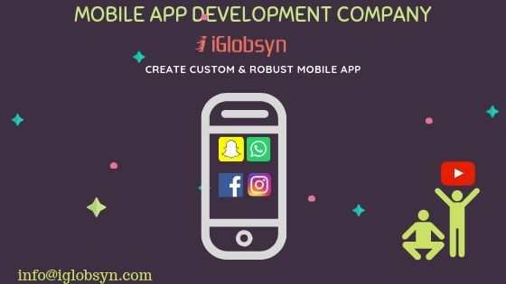 iGlobsyn is a Wellknown Mobile APP development company in
