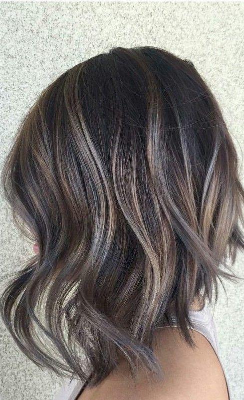 28 Incredible Examples Of Caramel Balayage On Short Dark Brown Hair Hair Styles Hair Style Idea In 2020 Short Dark Brown Hair Brown Blonde Hair Short Hair Balayage