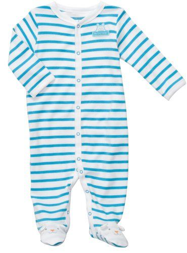 fc46010ff Carters My First Easter Cotton Snap up Sleep and Play 3 Months Blue ...