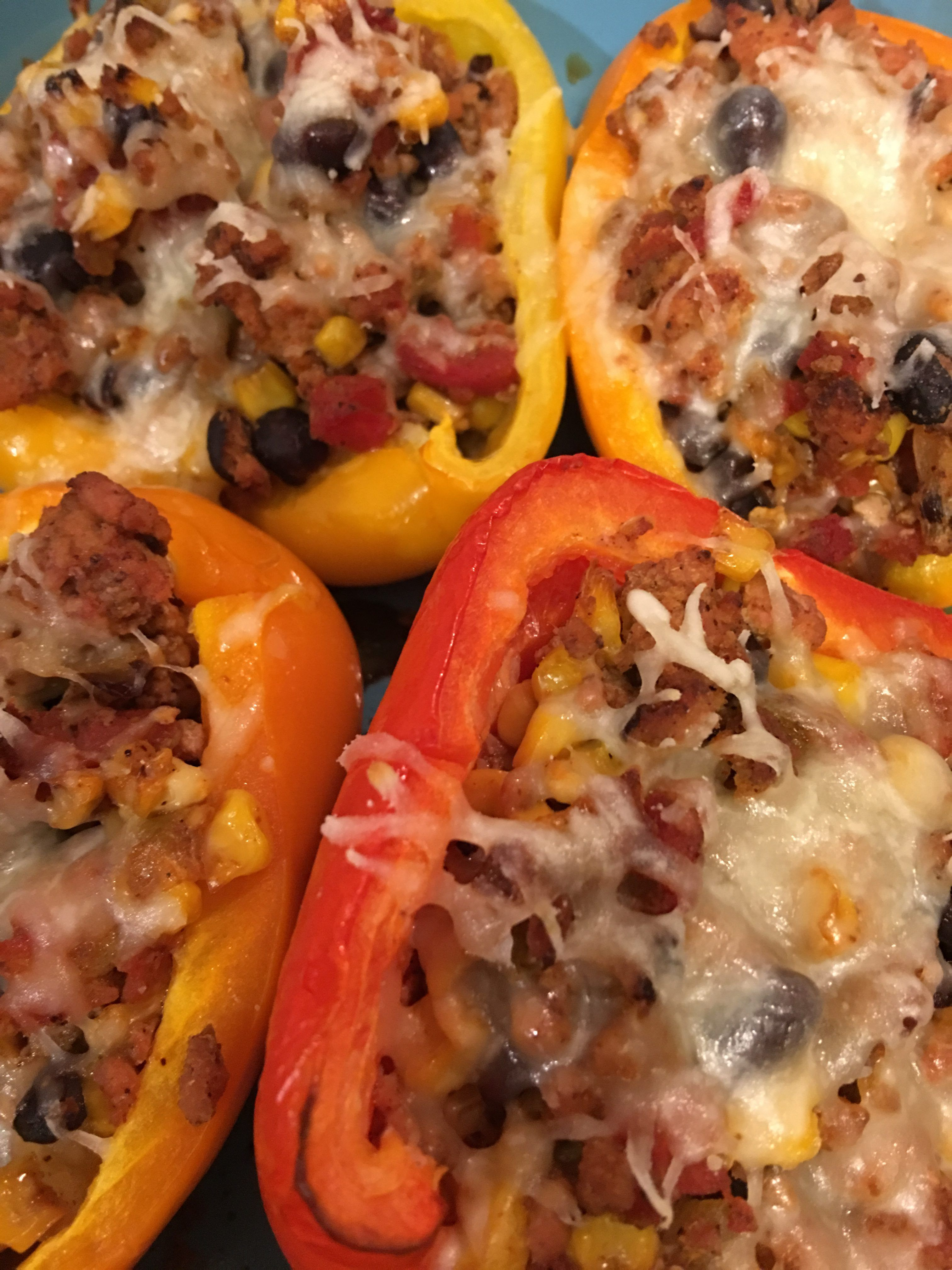 Ground Chicken Stuffed Peppers Stuffed Peppers Ground Chicken Ground Chicken Stuffed Peppers