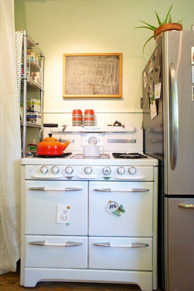 Cheyenne Weaver's Gilded Simplicity | Retro kitchen ...