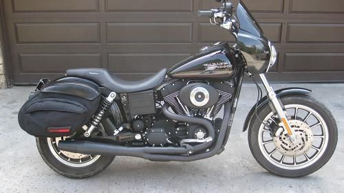 Dyna Super Glide Sport With The Original Badlander Seat And Original Seldom Sidebags