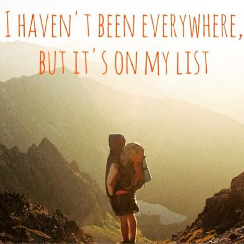 One major goal I have is to travel by myself around the world. I...  Instagram travelquote