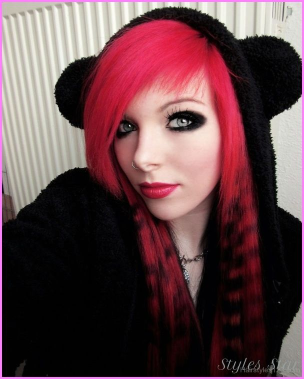 awesome Emo haircut for girls