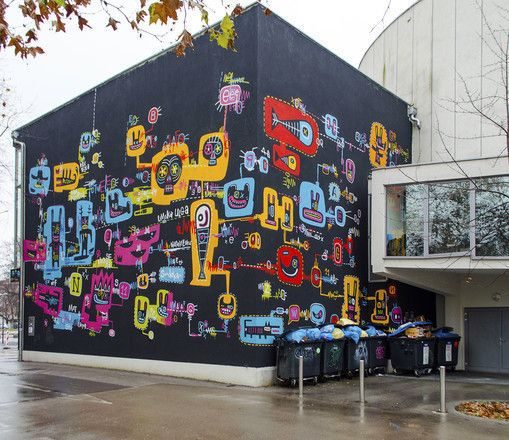 Kino Šiška Centre for Urban Culture building  Nice, if you