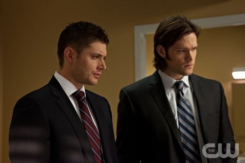 """Like a Virgin"" - Jensen Ackles as Dean, Jared Padalecki as Sam in SUPERNATURAL on The CW. Photo: Michael Courtney/The CW ©2010 The CW Network, LLC. All Rights Reserved."