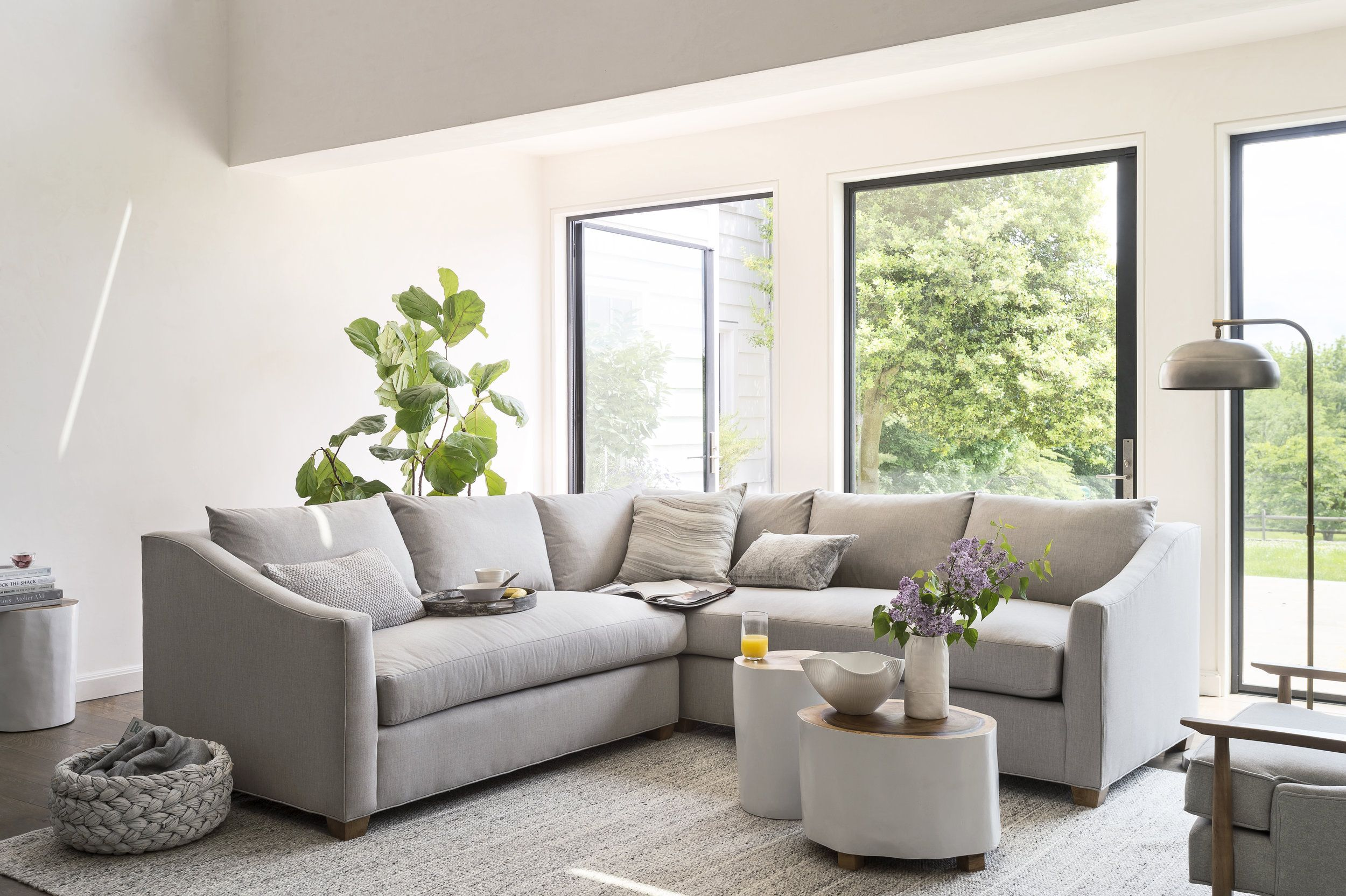 Product Display Page Videos For Maiden Home By Rally Co Marcella Iulo Home Casual Family Rooms Grey Sectional