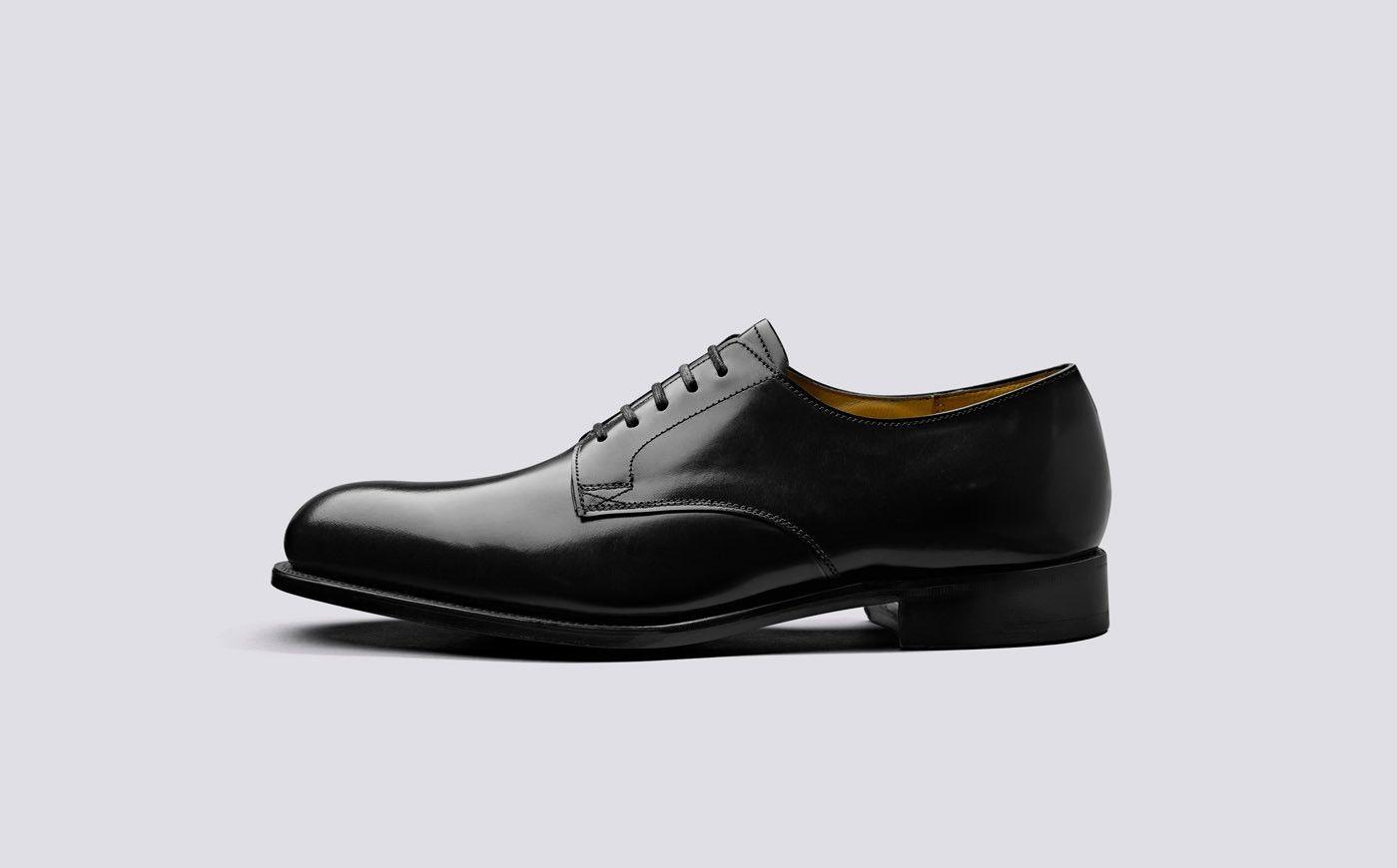 Rosebery | Mens Derby Shoes in Black