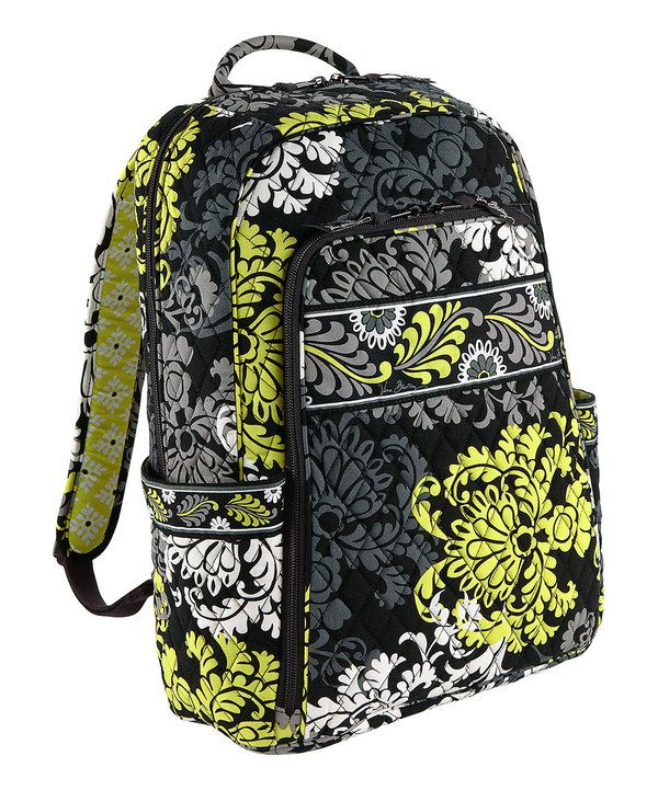 ce90523ce0e7 This Baroque Laptop Backpack by Vera Bradley is perfect!  zulilyfinds