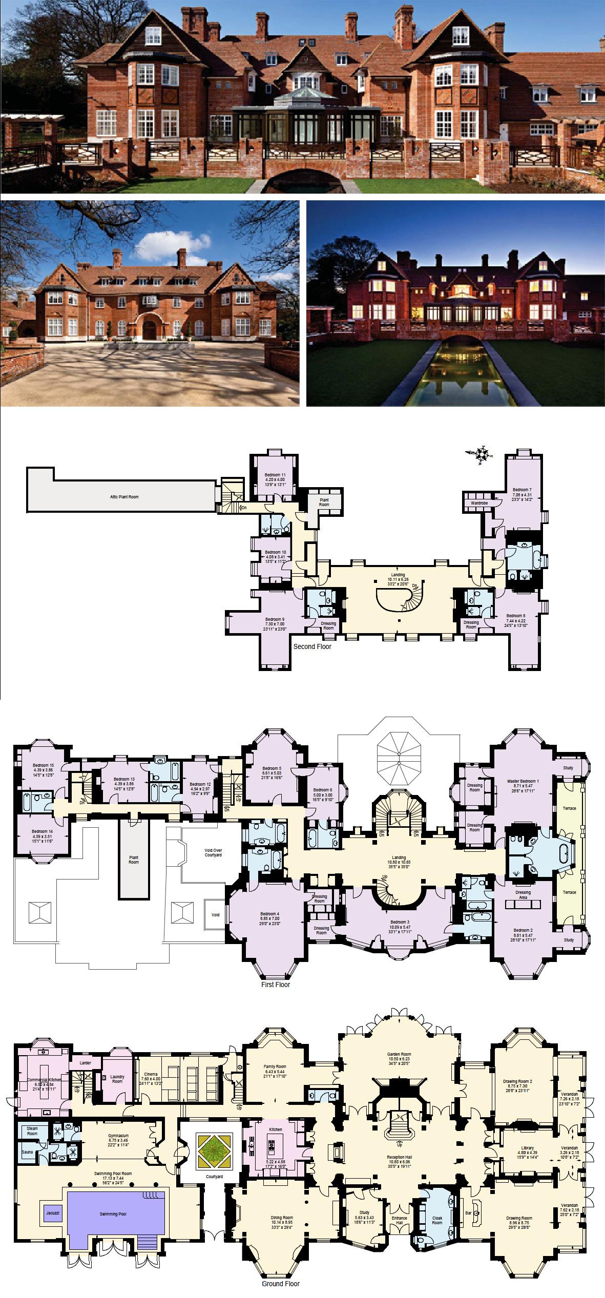 Plan Villa Mansion Floor Plan House Plans Mansion Mansion Plans
