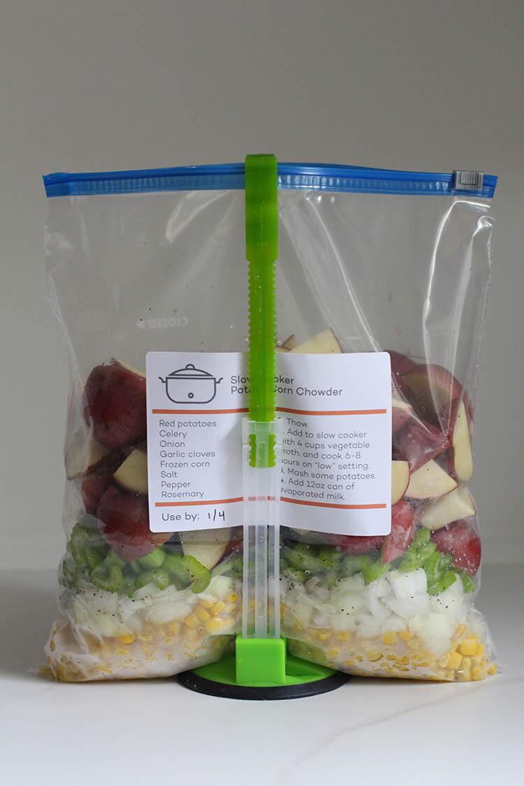 How To Freeze Raw Potatoes The Family Freezer Freezer Meal Planning Slow Cooker Freezer Meals Freezer Meals