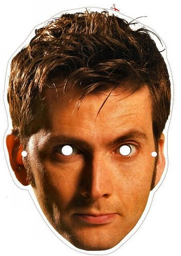 Doctor Who Mask Doctor 10 by combomphotos, via Flickr