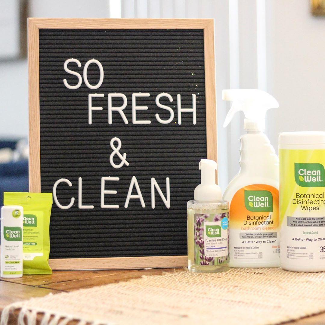 Cleanwell Natural Antibacterial Foaming Hand Soap Lavender 9 5