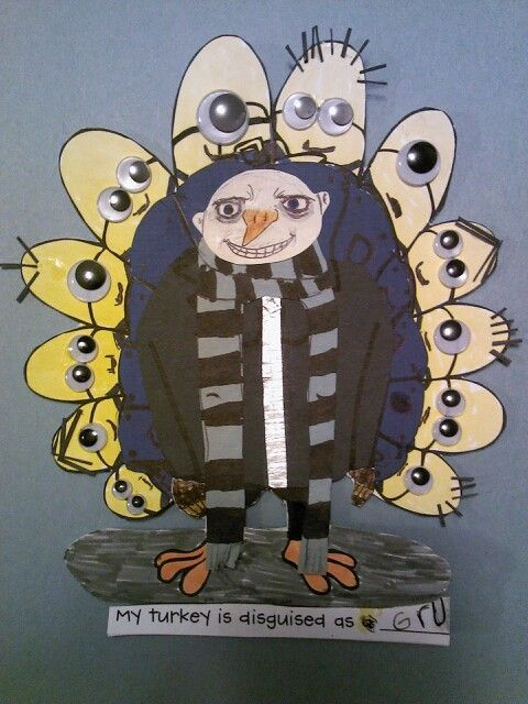 Image result for pics of disguising a turkey for kids school project #turkeydisguiseprojectideaskid