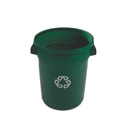 Home Depot Recycling Bins Brute 20 Galdark Green Recycling Container  Green Recycling And