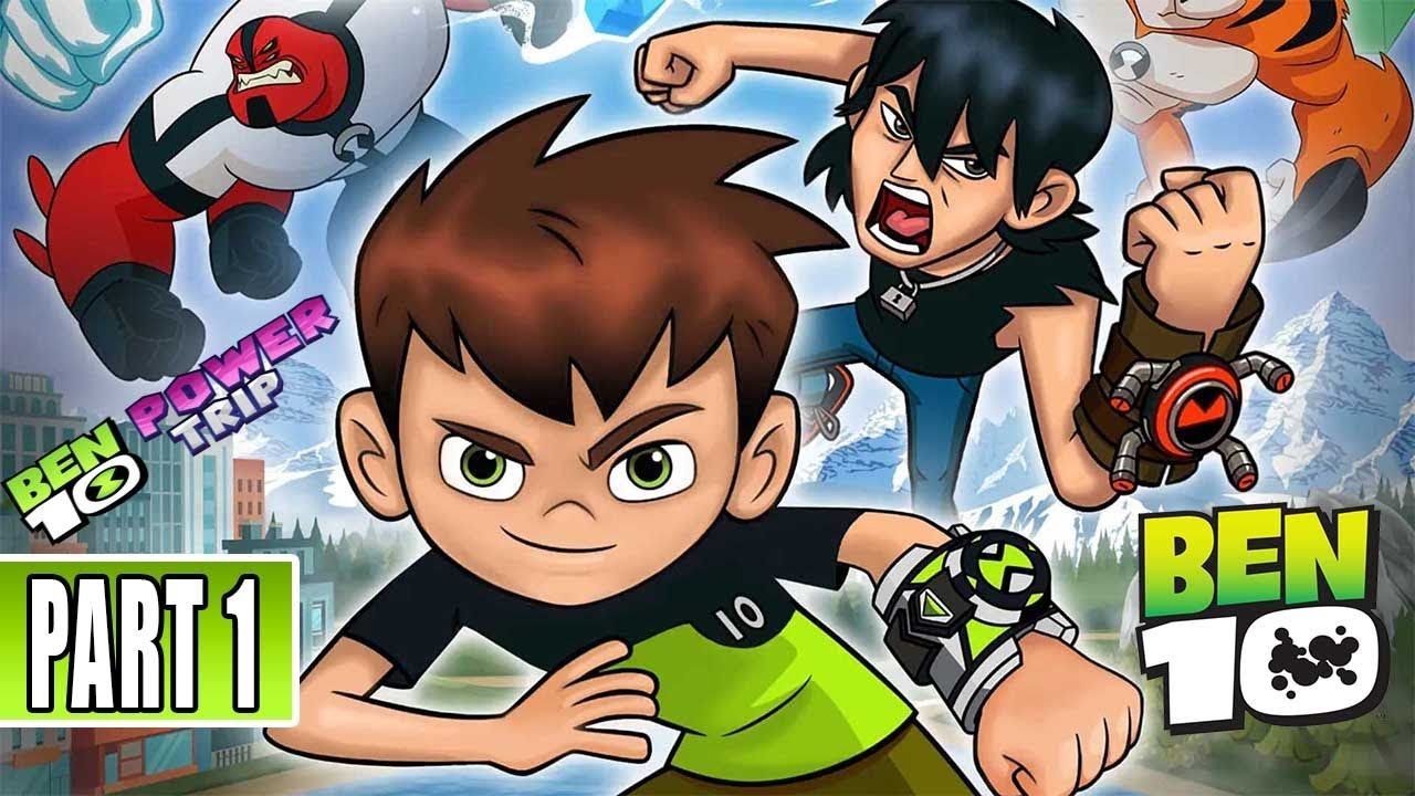 Ben 10 Power Trip Gameplay Part 1 Pc Power Trip Mario Characters Character