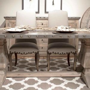 Weathered Grey Dining Room Table  Httpecigcoach Unique Grey Dining Room Sets Design Decoration