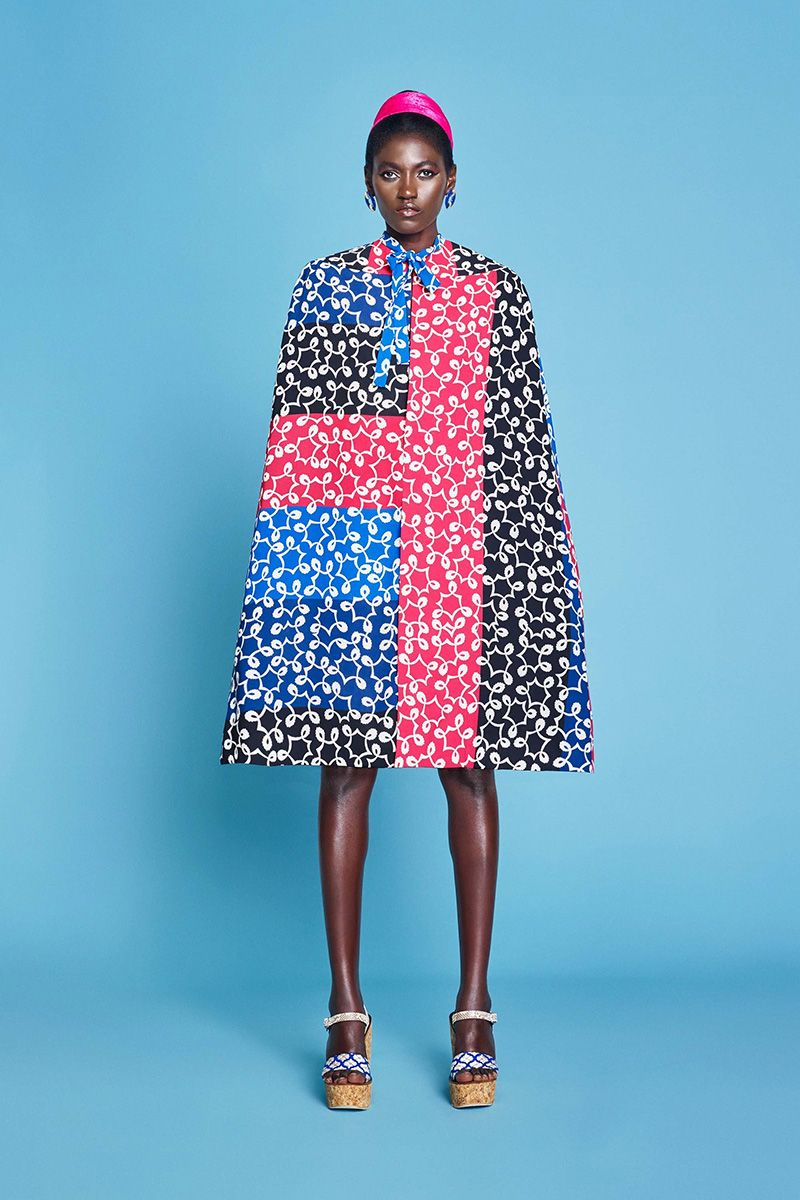 Top Trends London Fashion Week Spring 2017 - Duro Olowu Spring 2017
