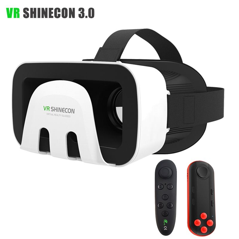 VR Shinecon 3 0 III Virtual Reality 3D Glasses with bluetooth