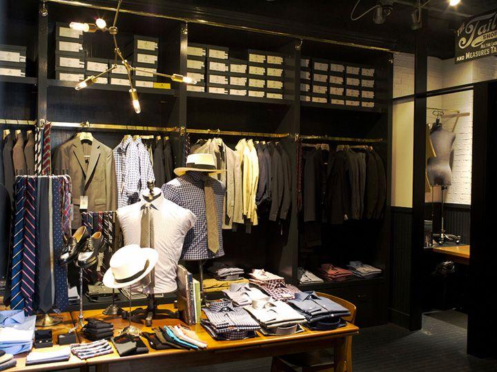 Todd Snyder Store Tokyo Japan 03 Shop Interior DesignStore