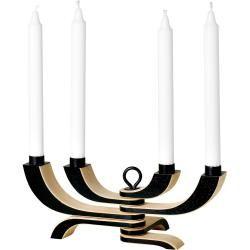 Design House Stockholm Nordic Light 4-armiger Kerzenleuchter, weiß Design House StockholmDesign Hous
