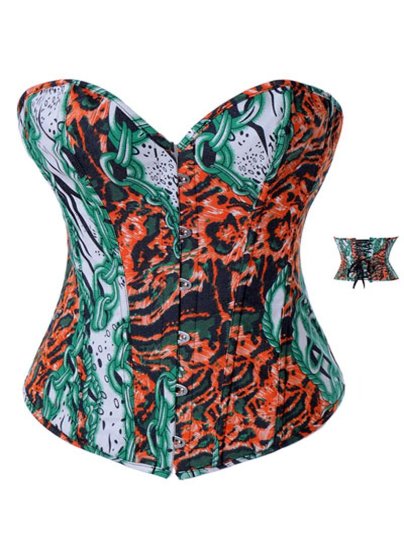 according to destroy corset abdominal corset tops halloween bustier